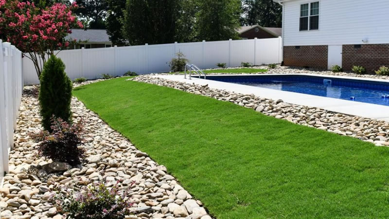 New Lawn Installation After